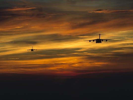 C-17 Globemaster III exercise