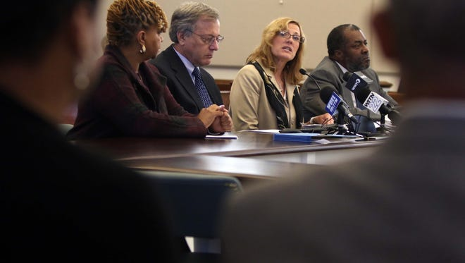 Delaware Department of Health and Social Services discuss a Centers for Disease and Prevention report into Wilmington gun violence on Nov. 2. Officials are scheduled to provide an update next week.