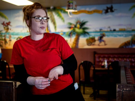 Jammie Ball, 29, drives nearly an hour for her job