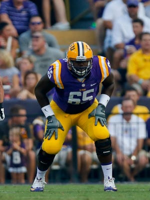 Jerald Hawkins is leaving LSU for the NFL Draft.