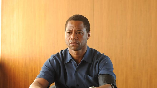 "Cuba Gooding Jr. stars as O.J. Simpson, left, in ""The People v. O.J. Simpson: American Crime Story."""