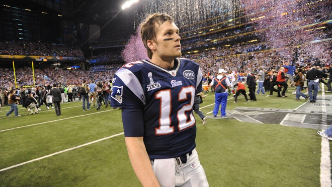 Patriots quarterback Tom Brady has said he would like to play into his mid-40s.