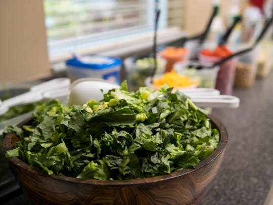 Markham Norton Mosteller Wright & Company has a salad bar daily so employees have a healthy option for lunch.