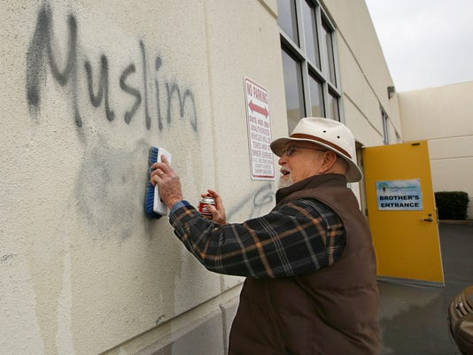 AP CALIFORNIA HATE CRIMES A FILE USA CA