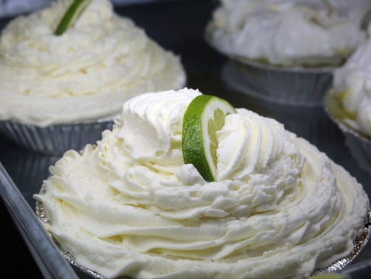A Key Lime pie at the High Falls Kitchenette in High Falls.