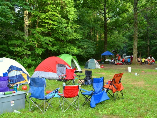 Wide jefferson memorial forest camping