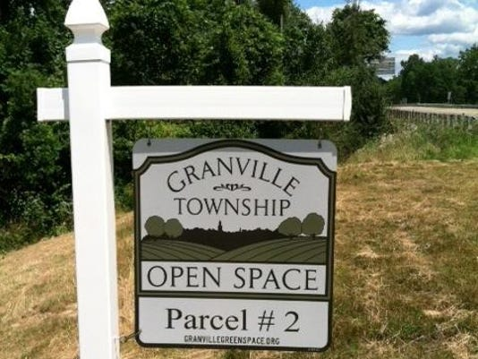 GRA Granville Open Space sign stock