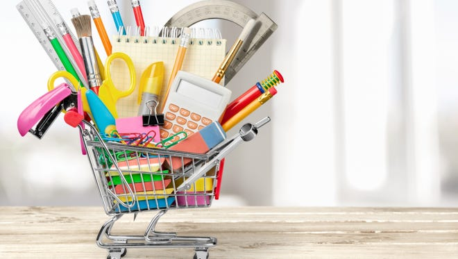 School supplies photo for Green Bay Back to School sweepstakes
