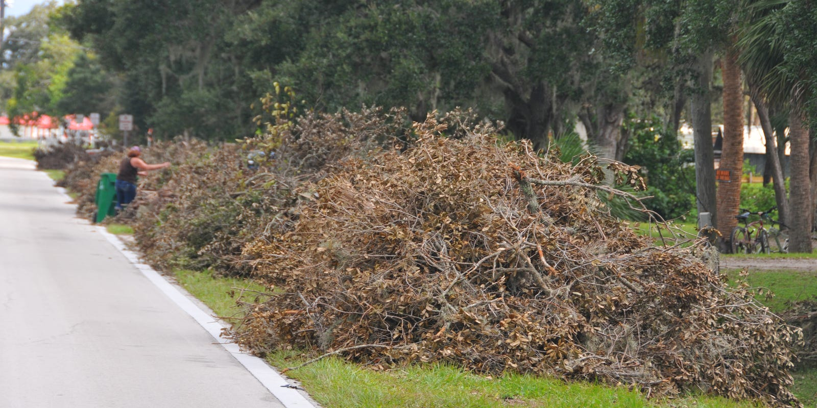 Debris pickup continues weeks after Hurricane Irma