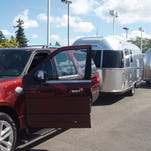 Camping with the Airstream Sport trailer