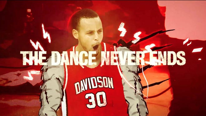 The Dance Never Ends campaign. The campaign will launch on Mon., March 23, reaching fans through TV, digital and social media. A print ad featuring Tim Duncan (NBA Team: San Antonio Spurs, College Team: Wake Forest University) will appear in Sports Illustrated, March Madness part 2 issue – on newsstands Wed., March 18. [Via MerlinFTP Drop]