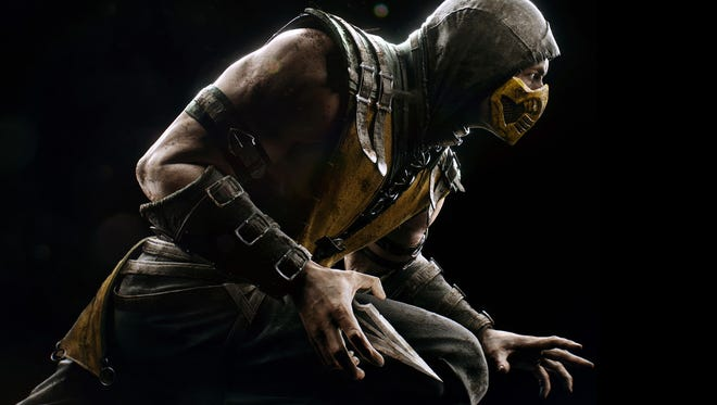 """Fatalities and over-the-top fighting action return once again in """"Mortal Kombat X."""""""