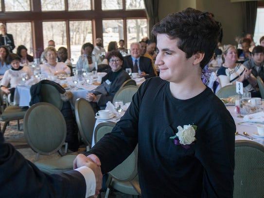 Warner Middle School student Ryan Goldberg.