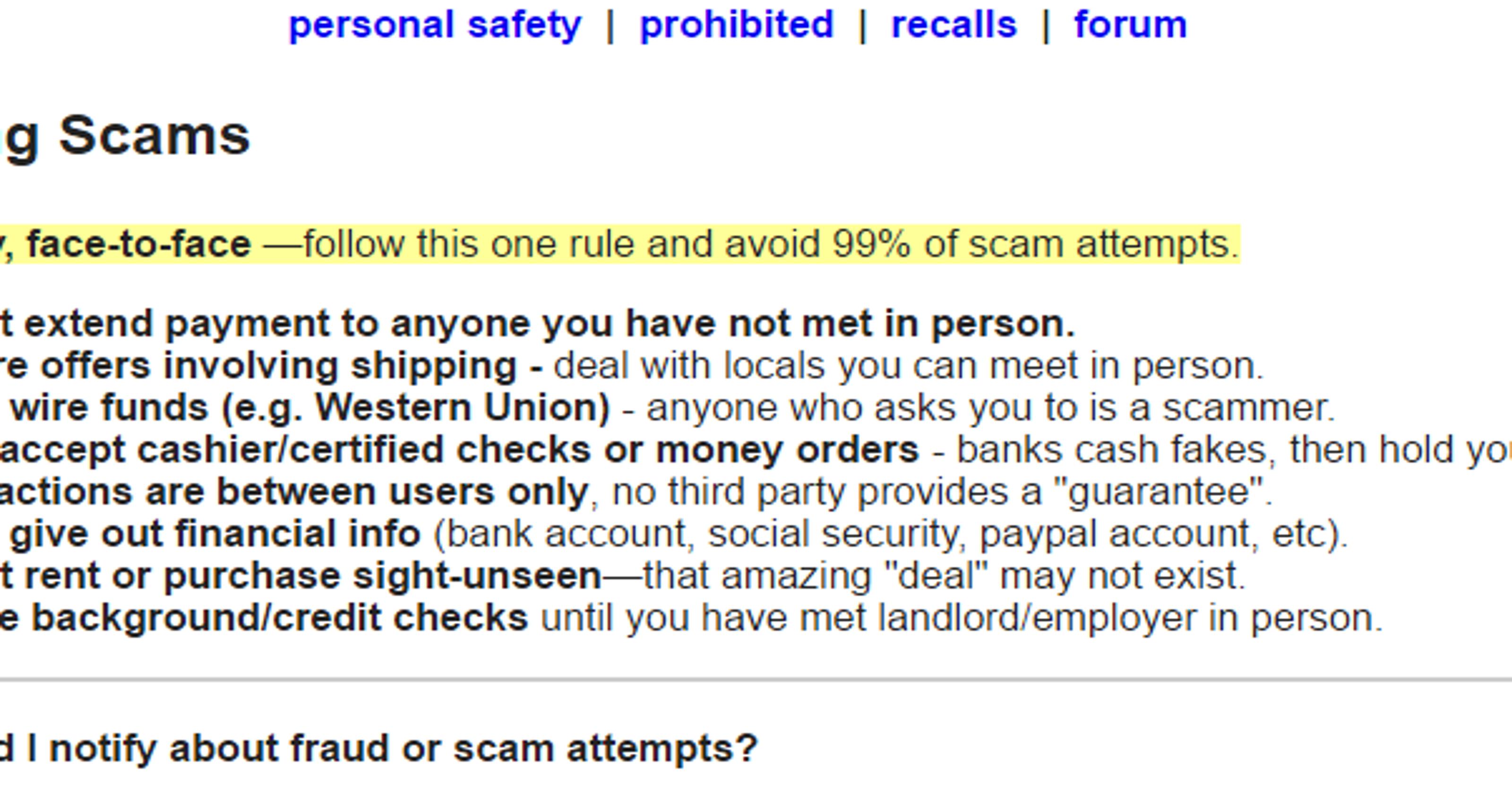Boyle column: How I almost got scammed on Craigslist