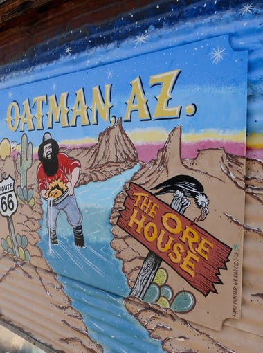 Oatman was founded in 1906 as a gold camp.