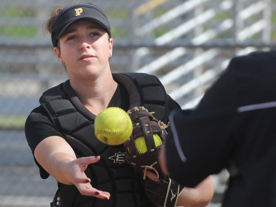 Serena Huchingson is hitting .462 with six home runs and 37 RBIs for Division 2 quarterfinalist Newbury Park.