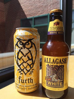 What's in the Fridge? This week we sample Night Shift Brewing Furth German-Style Hefeweizen Ale  and Allagash White Beer Brewed With Spices.