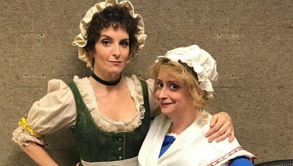 Tina Fey and Rachel Dratch on 'Saturday Night Live'