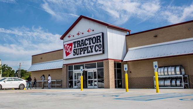 A new Tractor Supply Co. store opened at 4802 24th Ave. in Fort Gratiot in 2016. The company is building a store in  Richmond.