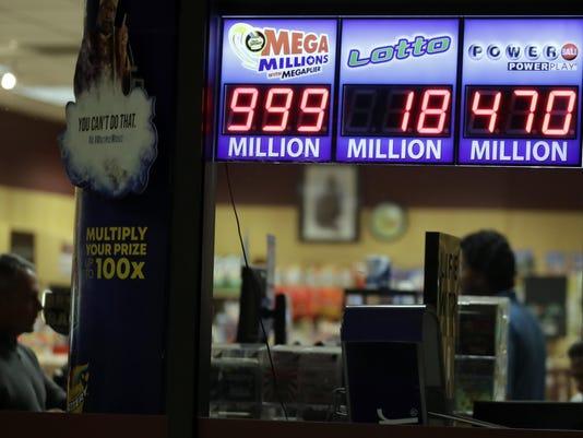 APTOPIX Mega Millions Jackpot