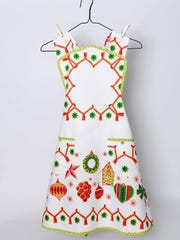 Vintage apron by Vintique Designs.