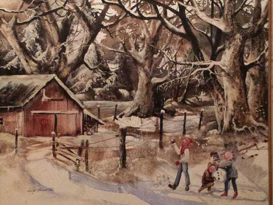 Inge Chase Who Painted Iowa Landscapes Dies At 84