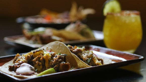 Pork carnitas tacos at Cocina Lolo in Wilmington is one of the entrees offered  for next week's Delaware Dines Out restaurant week.