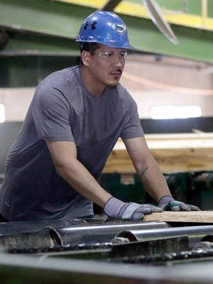 Menominee Tribal Enterprises harvests about 15 million board feet of lumber annually from its 230,713 acres of forest land.
