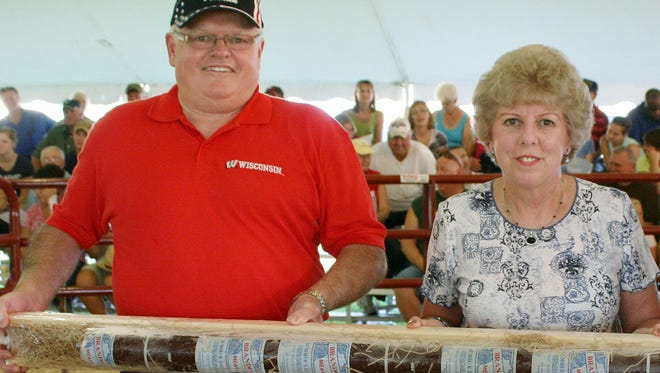Al and Janet Feucht recently sold their business Brandon Meats and Sausage. Over the last three decades the couple has donated their famous 5-foot summer sausage which has generated more than $500,000 in support of youth and community organizations and service groups.