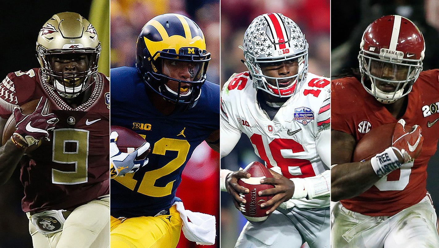 Preseason college football Top 25: Michigan's not Top 10 - yet