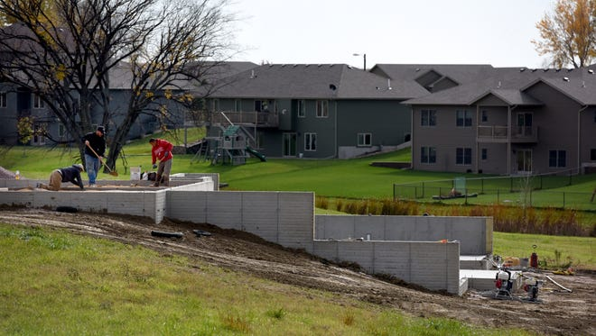 Construction of a new homes in Crooks.