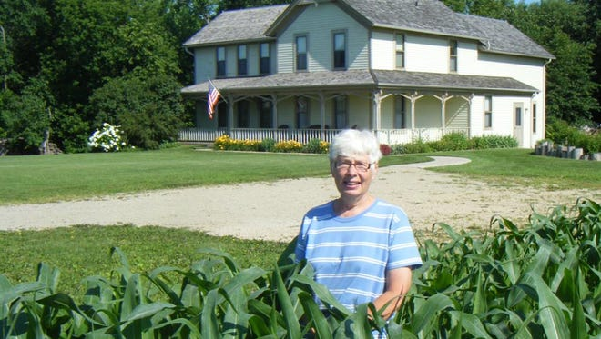 Sandra Fuller, who died last year, donated her family's historic farm to the New London Heritage Historical Society.