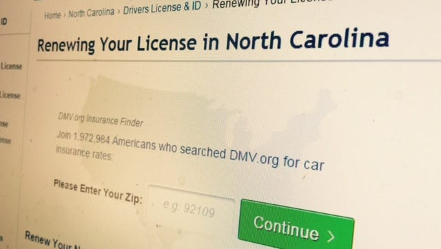 A reader questions whether a 95-year-old should be able to renew his license online.