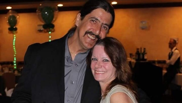 James Ruggiero Jr., 56, and his wife Denise Hannon Ruggiero, 53. The couple from Hamburg, Sussex County, was killed in a motorcycle accident on Rt. 287 in Parsippany on Sept. 25, 2016.