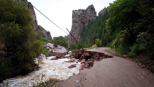 Boulder floods prevented Brad Feld from getting home.