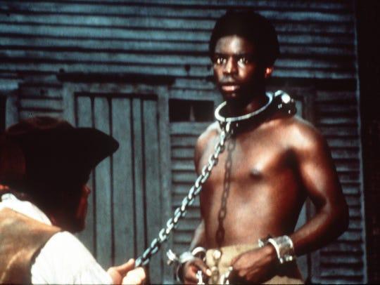 LeVar Burton as Kunta Kinte in the original 'Roots'