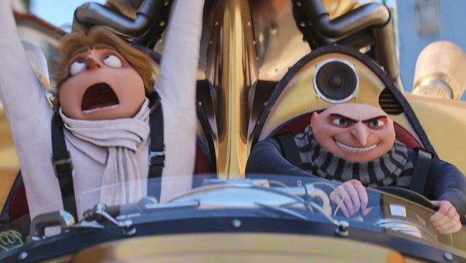 """Steve Carell voices Gru and twin Dru in """"Despicable Me 3,"""" in theaters June 30."""