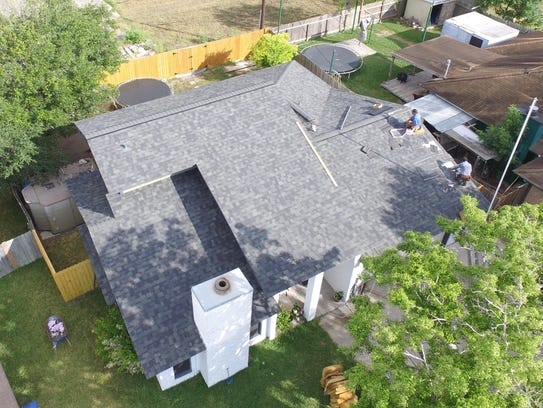 Texas State Roofing, a contractor for the Purple Heart
