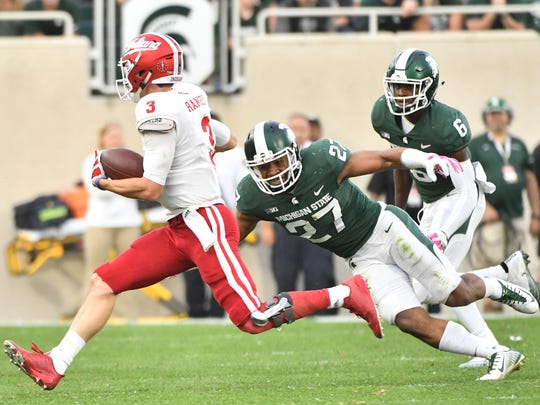 Michigan State safety Khari Willis likely will be one
