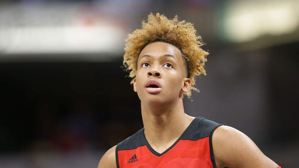 New Albany's Romeo Langford is a highly-touted recruit being pursued by IU and others.