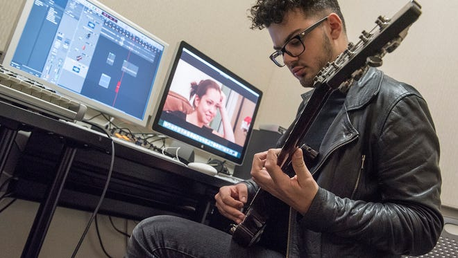 Levi Peters composes music for the film.