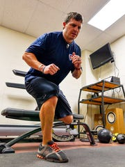 Firefighters must stay in top physical condition to
