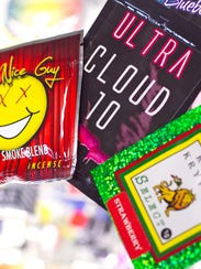 """Bags of synthetic marijuana, commonly nicknamed """"spice,"""""""