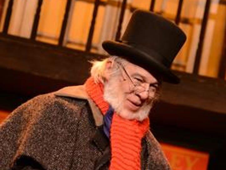 Paris Peet plays Scrooge in the 2016 Totem Pole Playhouse