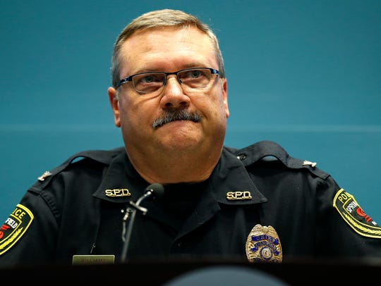 Springfield Police Department Chief Paul Williams