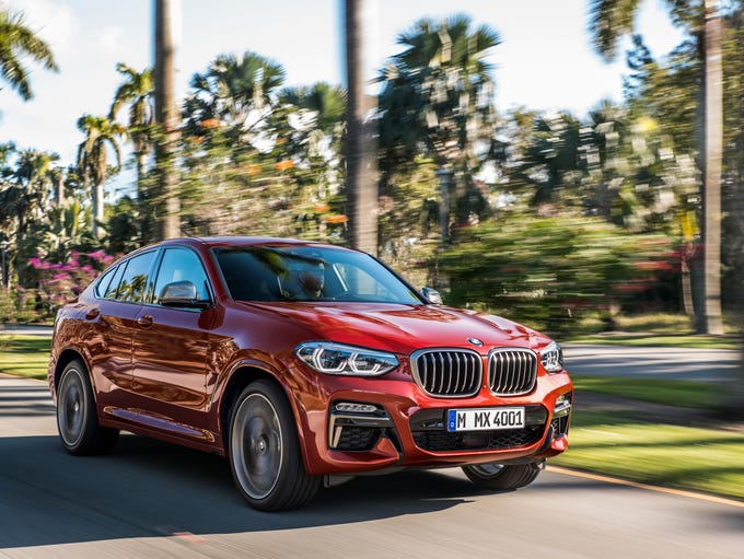 The BMW X4 xDrive M40d.