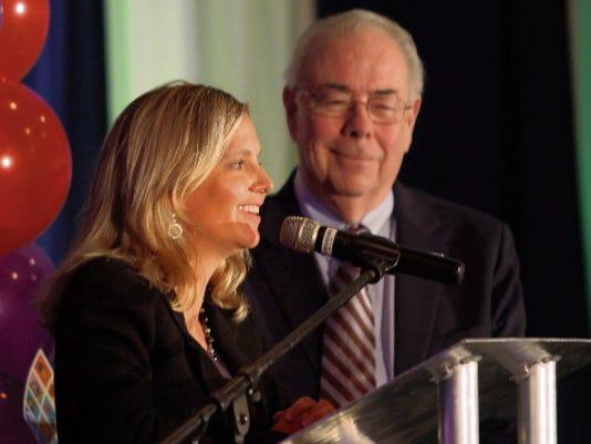 Mary Kipp and Tom Shockley