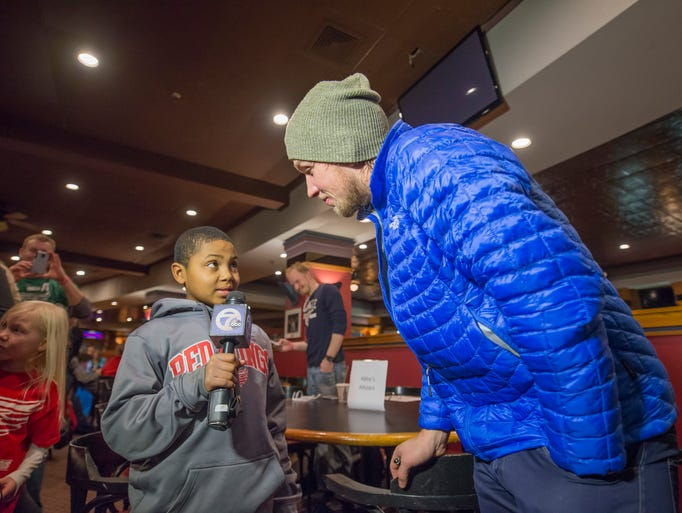 Ten-year-old Jujuan McDonald of Pontiac got the opportunity
