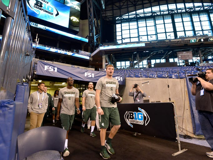 """Here We Go, Boys!"" quips quarterback Connor Cook as"