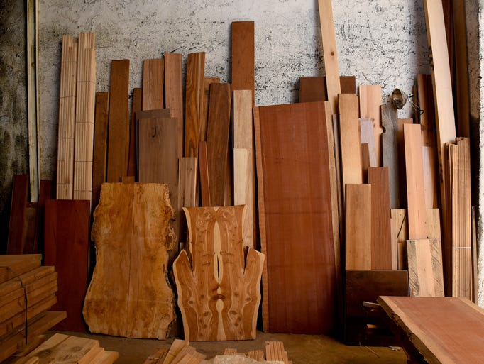 Jim McNutt plans on selling his wholesale exotic lumber